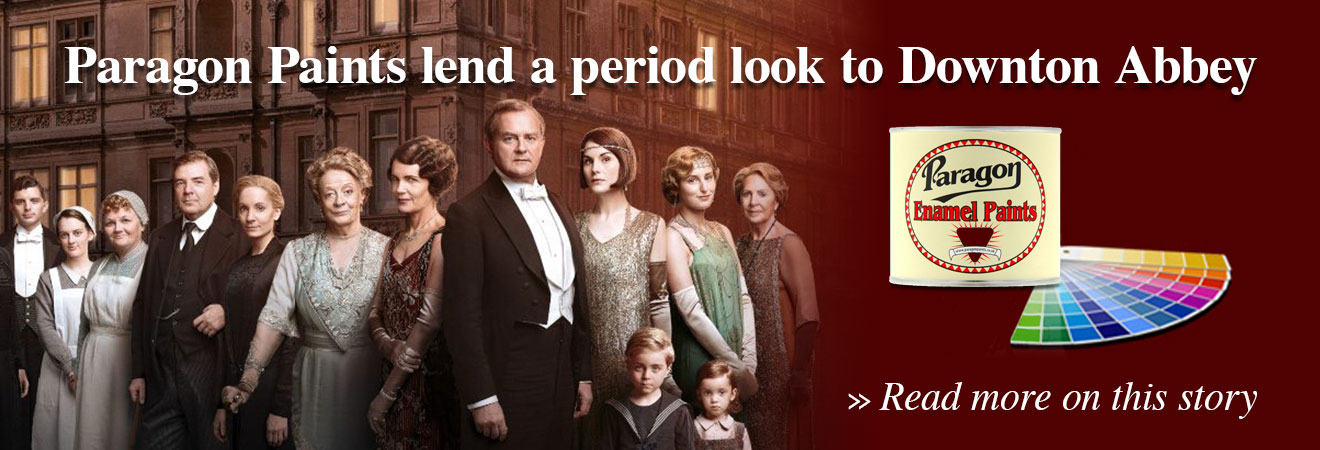 Paragon Paints lend a period look to downton abbey