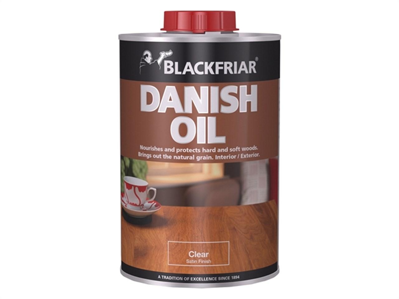 Blackfriars Danish Oil 1 Litre