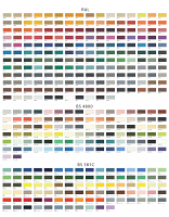 A2 Poster Colour Chart