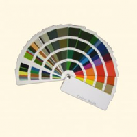 Fan Deck Colour Chart - Shows British Standard, 4800, 381C & RAL