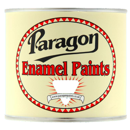 Paragon Black Stoving Enamel - Matt