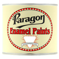Paragon Black Stoving Enamel - Semi Gloss
